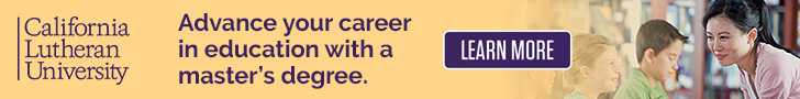 Cal Lutheran December Banner Ad