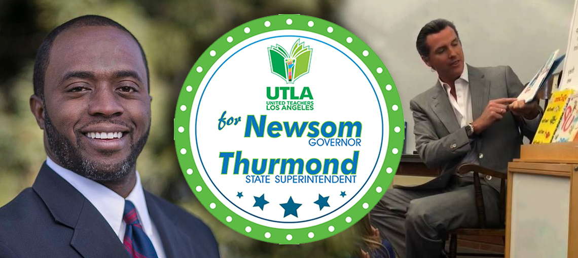 Newsom Thurmond Endorsement
