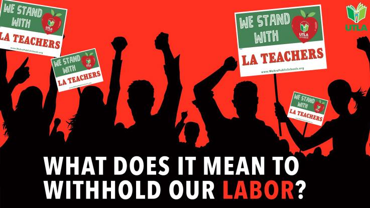 What does it mean to withhold our labor?