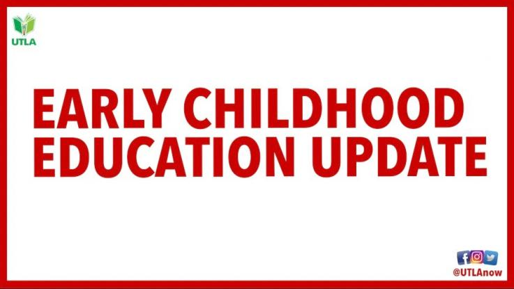UPDATE: FAQs on Early Education PD & resour