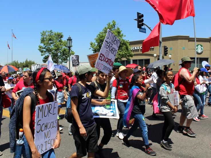 May Day MacArthur Park 2017