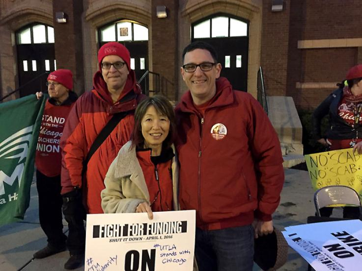 UTLA Stand with Chicago