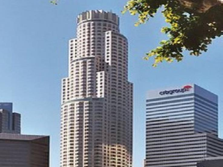 Picutre of the US Bank Tower in downtown Los Angeles.