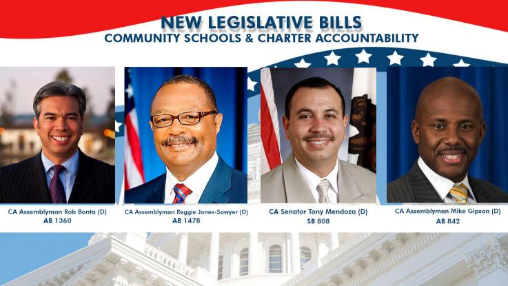 Legislative bills, Bonta, Mendoza, Gipson, Jones-Sawyer