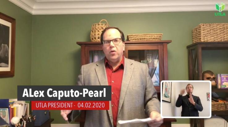 Facebook Live with Alex Caputo-Pearl